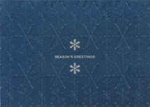 A Touch of Silver Holiday Greeting Card